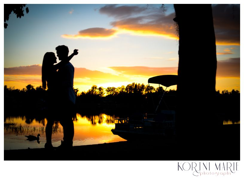 Florida Sunset Engagement