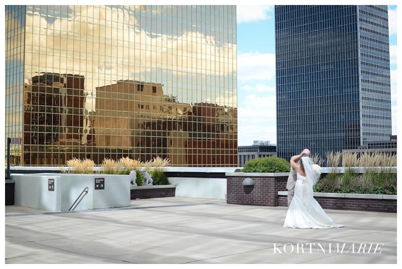 Regions Tower Wedding